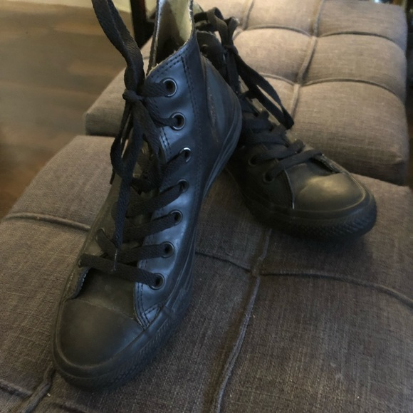 89b817dd120a Converse Shoes - CONVERSE RUBBER BLACK AUTHENTIC SNEAKERS